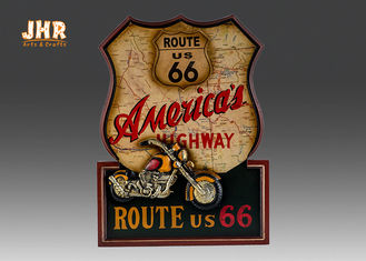 Resin Motorcycle Wall Decor Wooden Wall Plaques Decorative