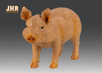 Home Decor Life Size Polyresin Animal Figurines Pig Sculpture Floor Statue