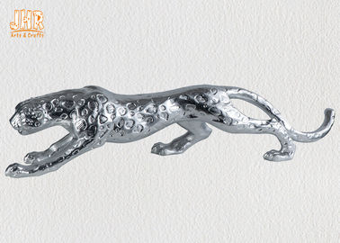 Polyresin Animal Figurines Glass Tiger Statue
