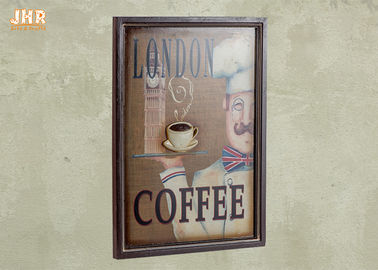 Coffee Shop Wall Art Sign Decorative Wood Wall Plaques Antique Home Wall Decor