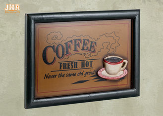 Coffee Shop Wall Decor Wooden Wall Signs Home Decorations Antique Wood Wall Art Signs