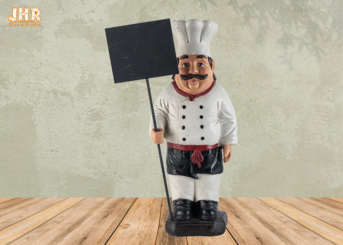 Statue Polyresin French Chef Figurine